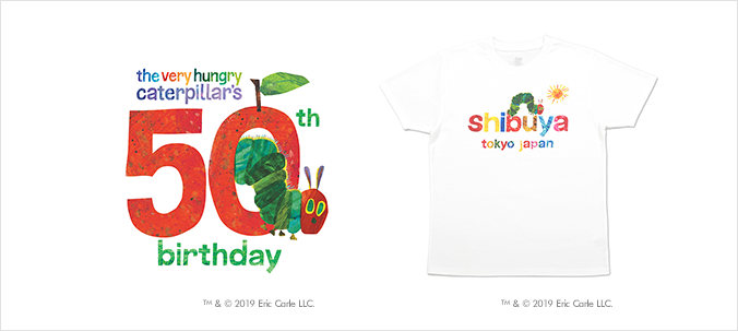 The Very Hungry Caterpillar Market 50th Anniversary Shop <Design Tshirts Store graniph>