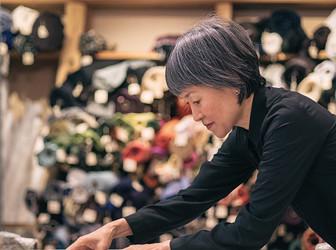 Japan Senses Oshima Tsumugi Story Connecting To The Future Rakuten Fashion Week Tokyo