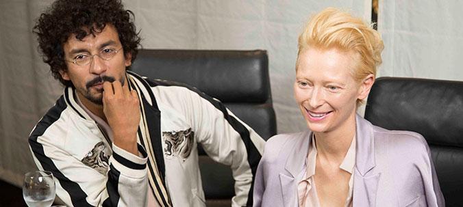 """Tilda Swinton / Actress & Haider Ackermann / """"Haider Ackermann"""" designer"""