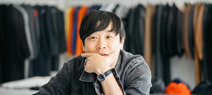 "Arashi Yanagawa / ""JOHN LAWRENCE SULLIVAN"" designer"
