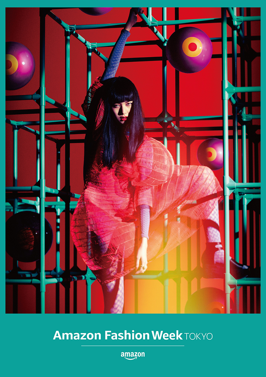Amazon Fashion Week TOKYO 2019 S/S Key Visual