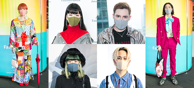 PITTA MASK FASHION SNAP in AmazonFWT 2019 S/S