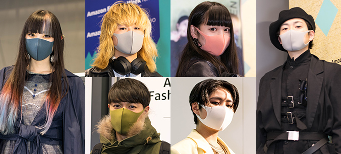 PITTA MASK FASHION SNAP in AmazonFWT 2019 A/W