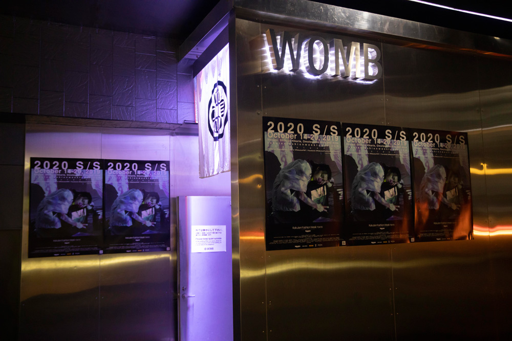 Entertainment space″WOMB″
