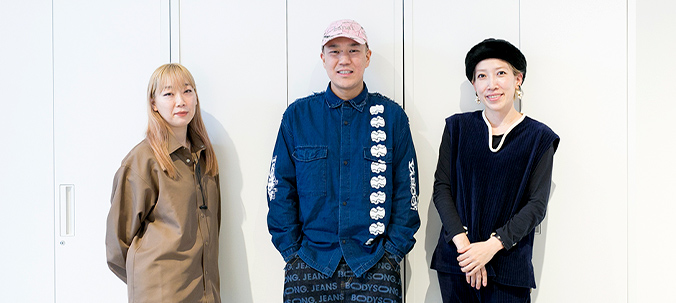 RakutenFWT 2020 S/S & A/W Key visual production staff roundtable talk