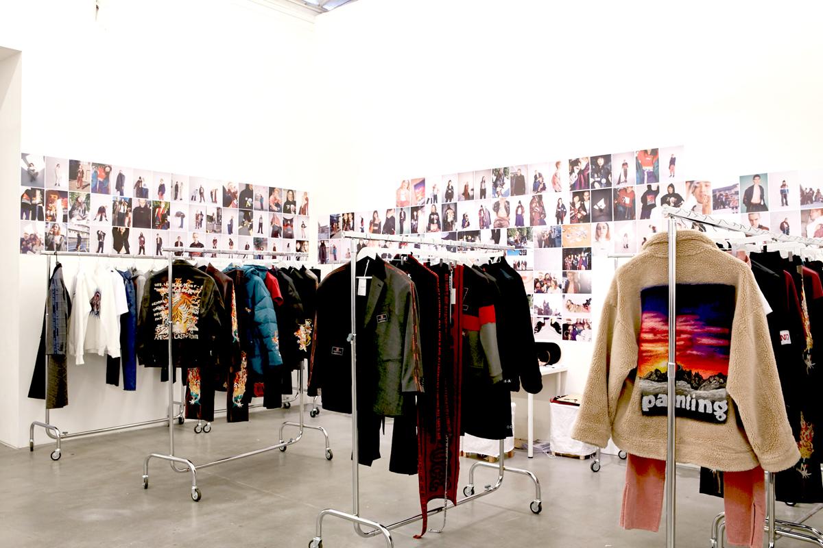 doublet 2018 S/S Show room