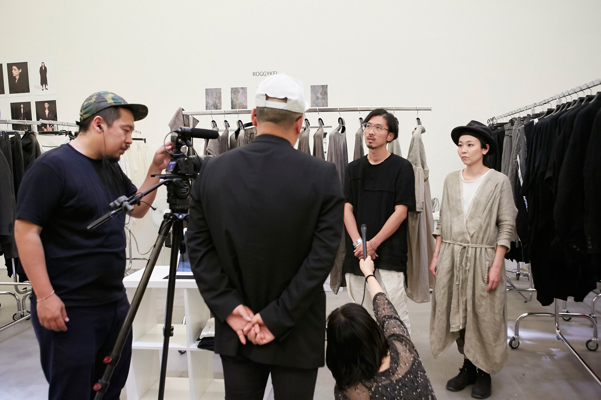 ROGGYKEI showroom.tokyo S/S 2018