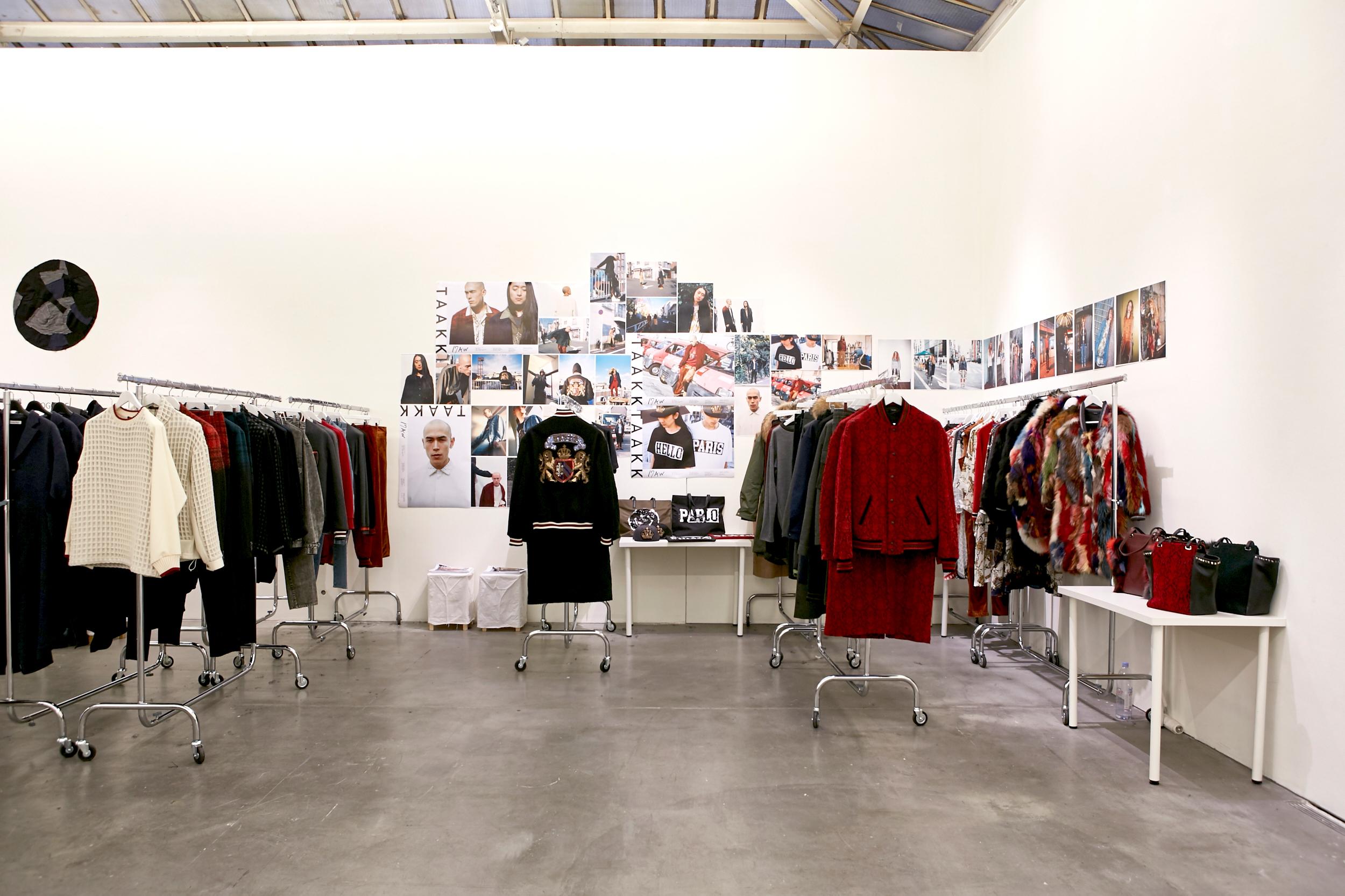 TAAKK showroom.tokyo A/W 201