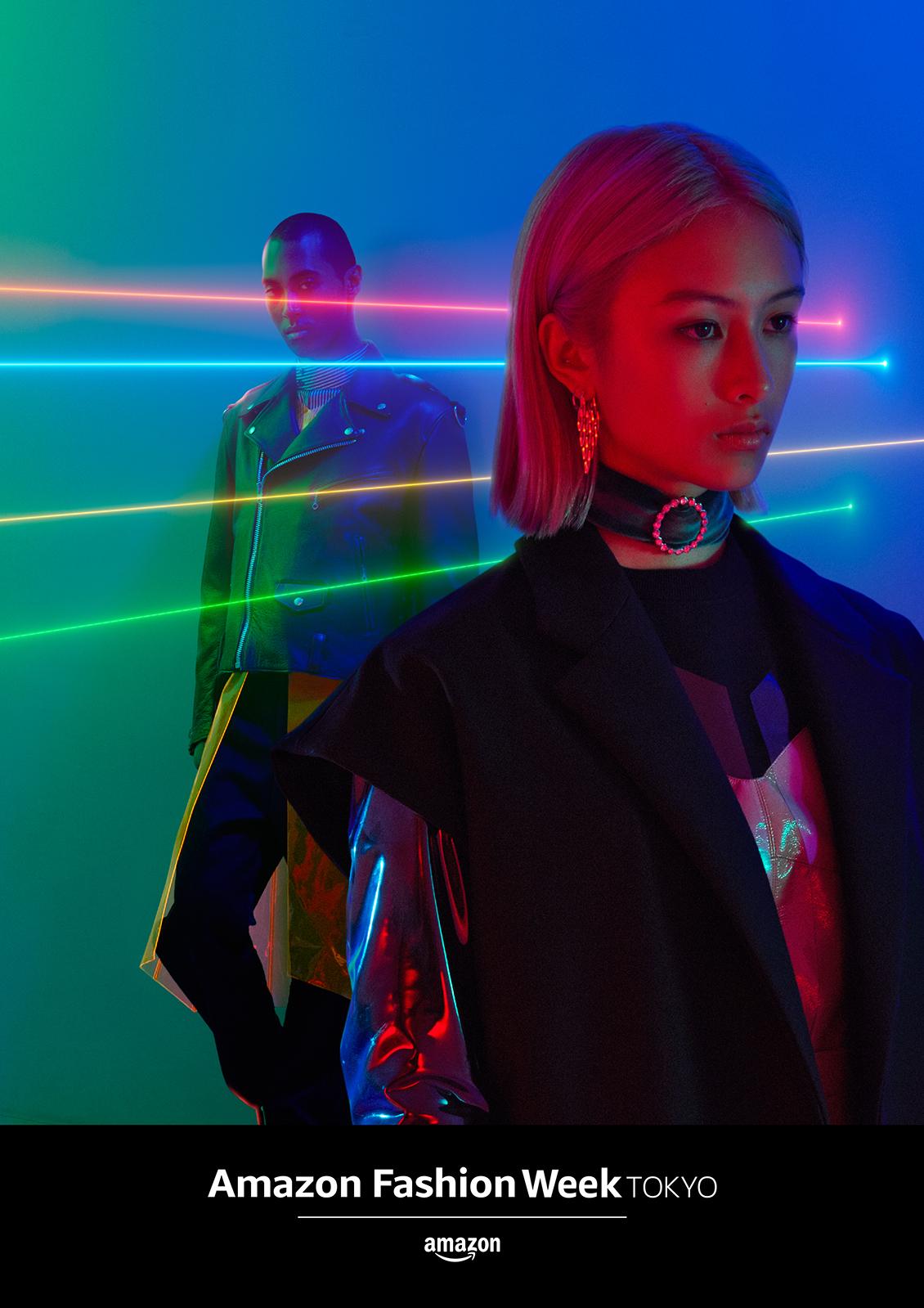 Amazon Fashion Week TOKYO 2018 S/S Key Visual