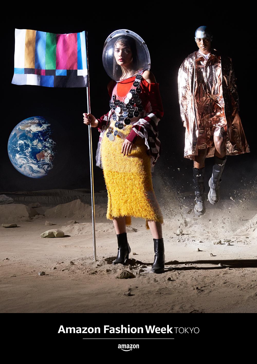 Amazon Fashion Week TOKYO 2018 A/W Key Visual