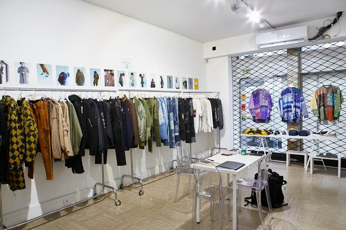 Children of the discordance showroom18aw