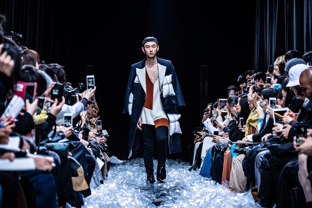 Nobuyuki Matsui 2019 A/W collection runway show