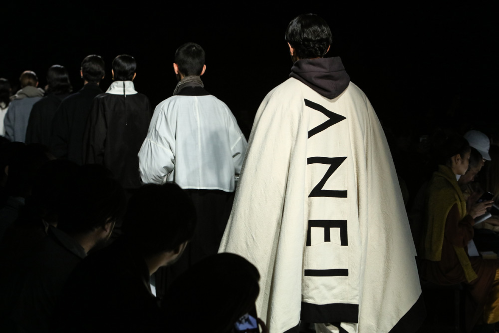ANEI 2019 A/W collection runway show